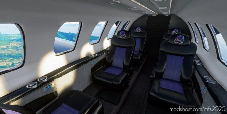 Citation CJ4 Blackdoginc (Including Custom Interior) for Microsoft Flight Simulator 2020