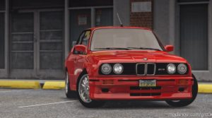 BMW M3 E30 1990 for Grand Theft Auto V