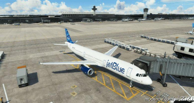 "Jetblue ""Streamers"" – AMP A321 for Microsoft Flight Simulator 2020"