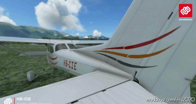 Asobo C172 (Classic) Hb-Cie Motorfluggruppe Thun for Microsoft Flight Simulator 2020