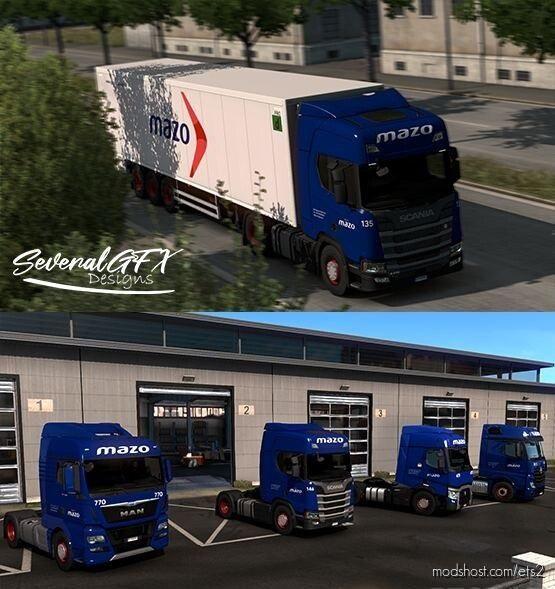 Grupo Mazo Skin-Pack for Euro Truck Simulator 2