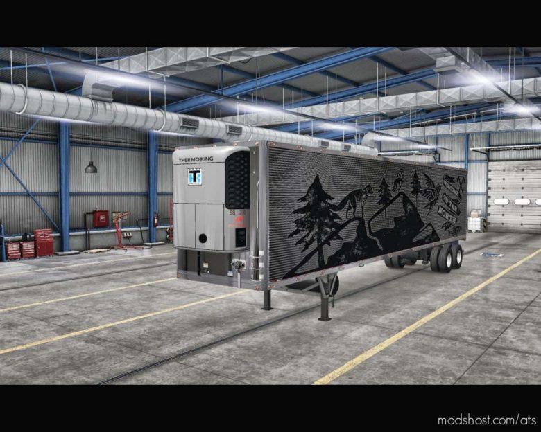 Dorsey 48FT Refrigerator Trailer V4.0 for American Truck Simulator