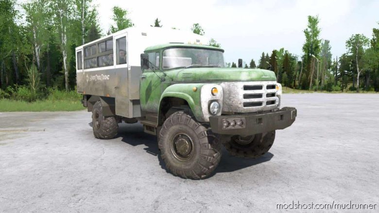 SIL 133GY 4×4 Truck for MudRunner