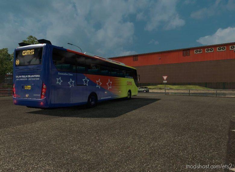 Indonesia Laksana Nucleus BUS V1.25 for Euro Truck Simulator 2