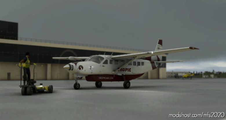 Tropic AIR Belize Cessna 208B Grand Caravan EX Livery for Microsoft Flight Simulator 2020