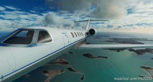 Citation CJ4 Hahn AIR Updated (2 Livery Versions) V2.0 for Microsoft Flight Simulator 2020
