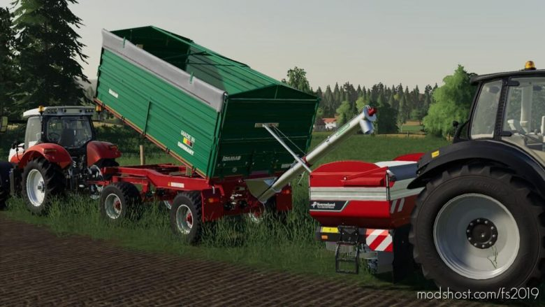 Lomma ZDK 1802 for Farming Simulator 19