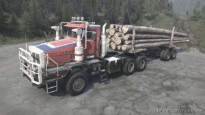 Boar-45318 (Tonar-7502) Truck V1.2 for MudRunner