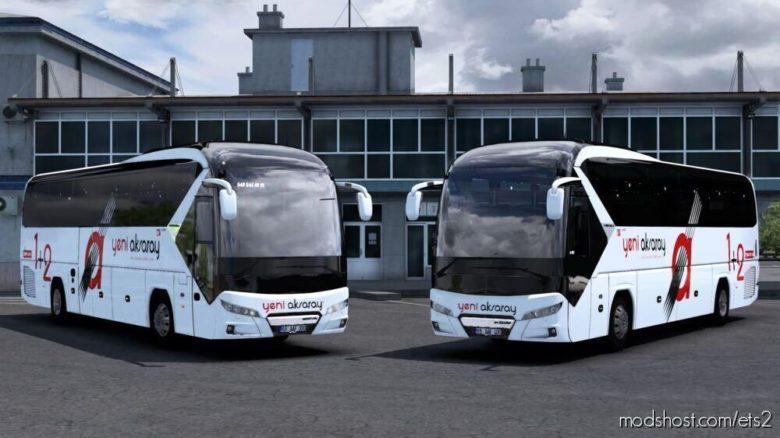 NEW Neoplan Tourliner – Yeni Aksaray Seyahat Skinpack for Euro Truck Simulator 2