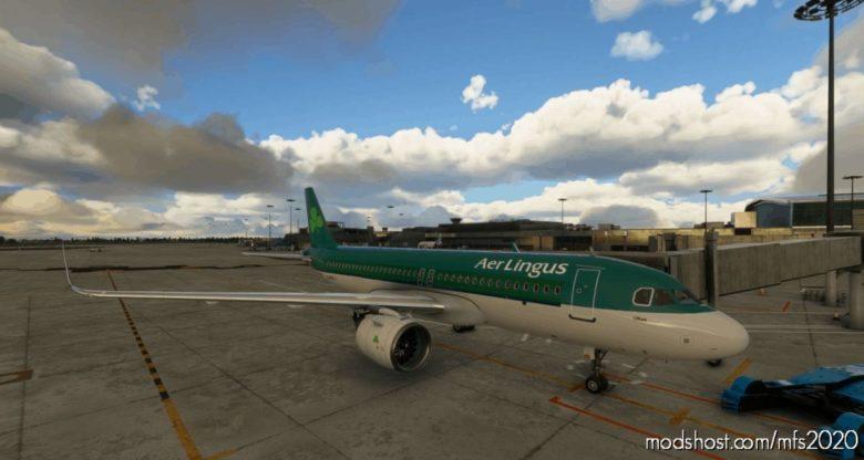 AER Lingus A320 NEO Classic Livery for Microsoft Flight Simulator 2020