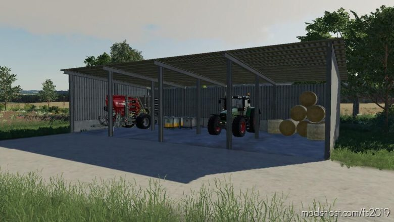 Metal Sheds Pack for Farming Simulator 19