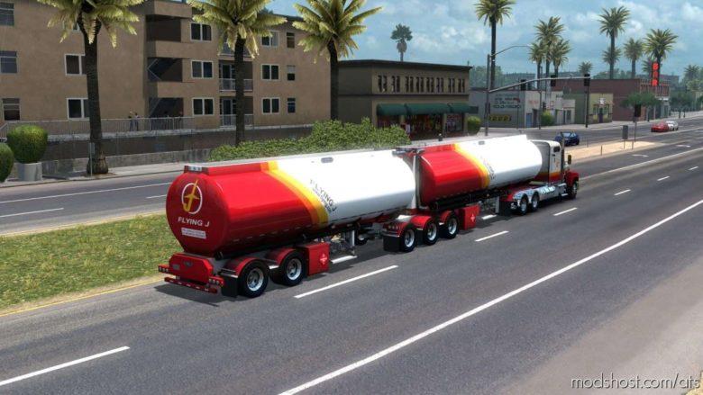 Advanced B-Train Tanker V14.01.21 [1.39] for American Truck Simulator