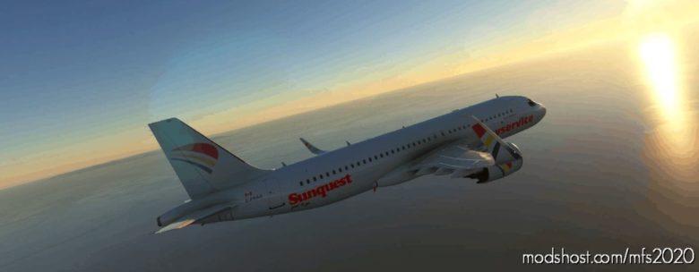 A320Neo Skyservice Pack – 8K for Microsoft Flight Simulator 2020