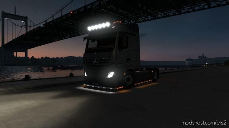 Mercedes Actros 2014 Sade [1.39] for Euro Truck Simulator 2