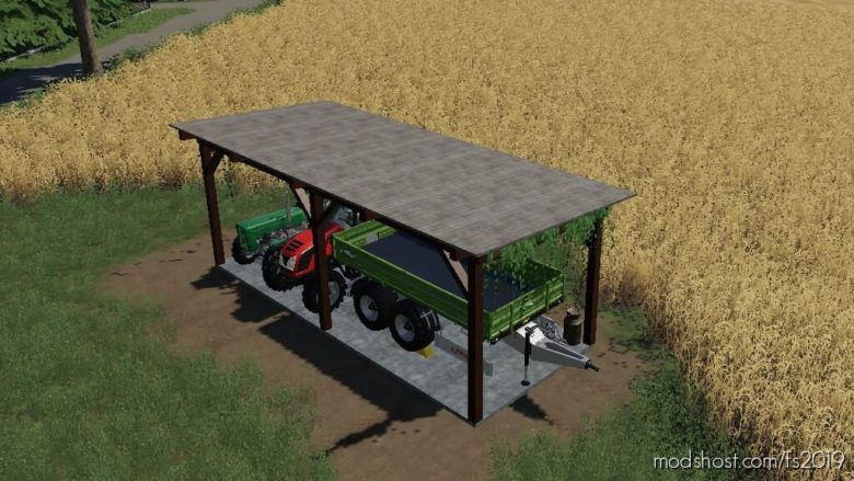 Shelters for Farming Simulator 19