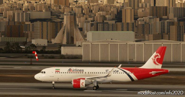 ATA Airline A320 NEO – 8K for Microsoft Flight Simulator 2020