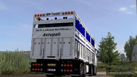 Scania Next GEN R450 Turkish Kirkayak [1.39] for Euro Truck Simulator 2