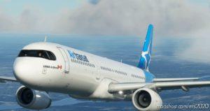 [8K] AIR Transat A321 Livery for Microsoft Flight Simulator 2020