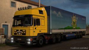 MAN F2000 [1.39] for Euro Truck Simulator 2