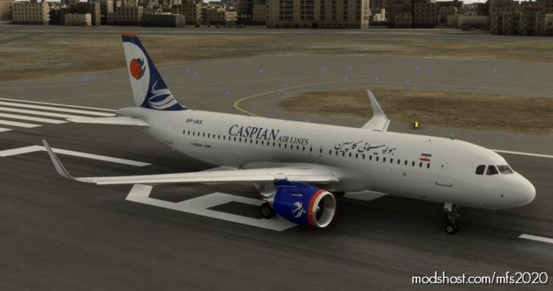 Caspian Airlines A320NEO – 8K for Microsoft Flight Simulator 2020