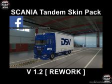 Scania S Krone Tandem BIG Pack [Rework] V1.2 for Euro Truck Simulator 2