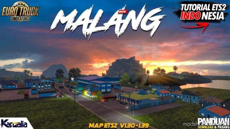 Malang Map [1.39.X] for Euro Truck Simulator 2