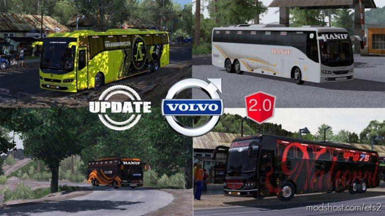 Volvo B9R I-Shift Multiaxle Update V2.0 [1.39] for Euro Truck Simulator 2
