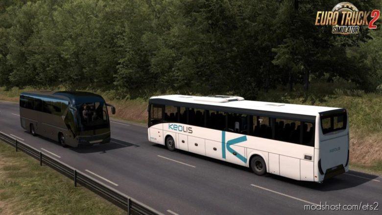 Iveco Evadys Line 13M + Interior V1.0.4 [1.39.X] for Euro Truck Simulator 2