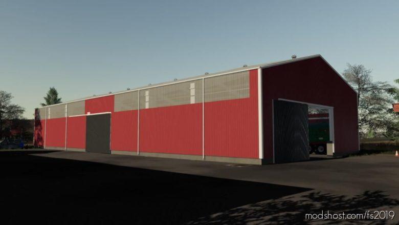 Borga Hall for Farming Simulator 19
