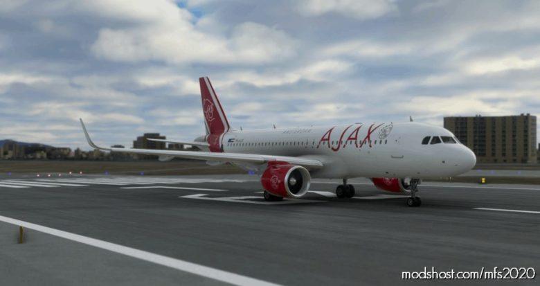 Ajax Amsterdam A320NEO – 8K for Microsoft Flight Simulator 2020