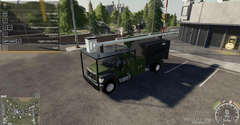 F750 Tree Truck V1.0.0.1 for Farming Simulator 19