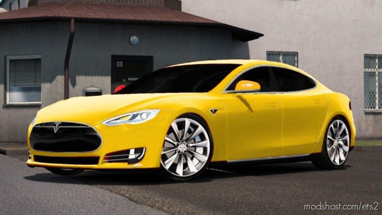 Tesla Model S [1.39] for Euro Truck Simulator 2
