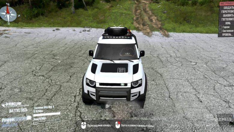 Land Rover Defender Mod V2.0 for MudRunner