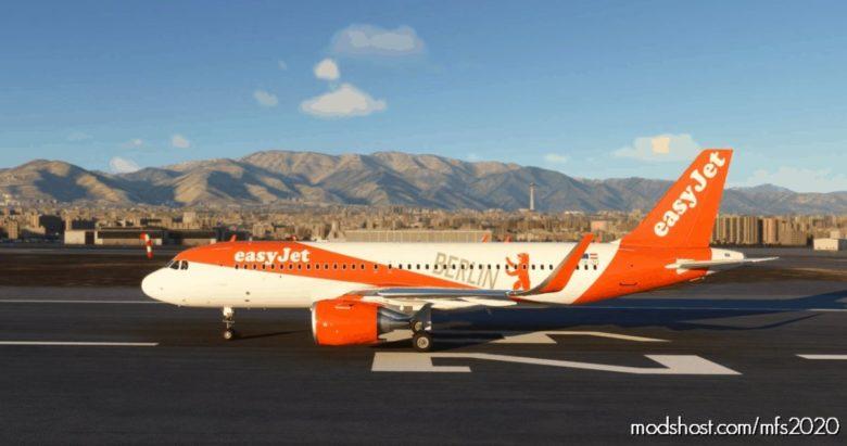 Easyjet Berlin A320 NEO – 8K for Microsoft Flight Simulator 2020