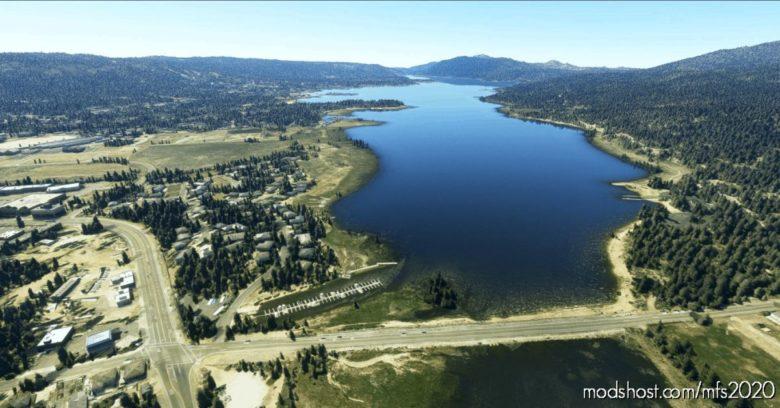 BIG Bear Lake Polys V1.2 for Microsoft Flight Simulator 2020