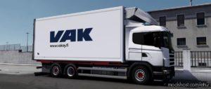 Addons Scania RJL / RJL Tandem LOW Chassis 8 CM [1.39] for Euro Truck Simulator 2
