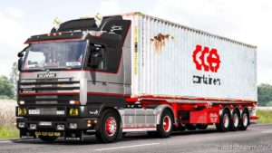 Scania 143M Edit By Ekualizer (Open Windows & V8 Sound) [1.39.X] for Euro Truck Simulator 2