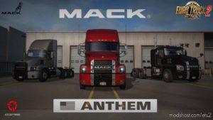 Mack Anthem + Interior V2.2 [1.39.X] for Euro Truck Simulator 2