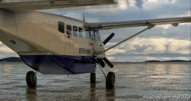 Cessna 208B Grand Caravan BA Operated By Logan AIR for Microsoft Flight Simulator 2020