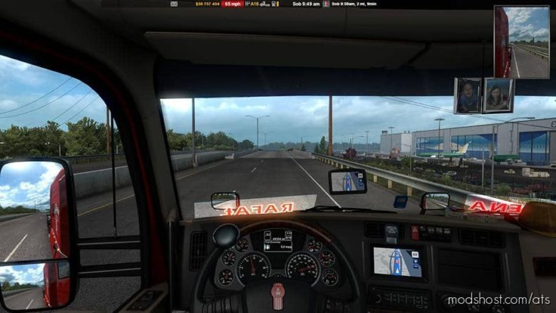 GPS RG PRO Blue HG V6.0 for American Truck Simulator