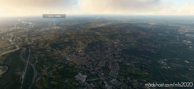 Caumont-Sur-Durance City, France V4.0 for Microsoft Flight Simulator 2020