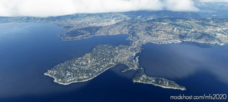 Saint-Jean-Cap-Ferrat City, France V4.0 for Microsoft Flight Simulator 2020