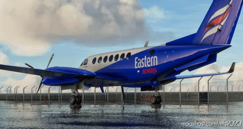 Beechcraft Kingair 350 Eastern Airways for Microsoft Flight Simulator 2020