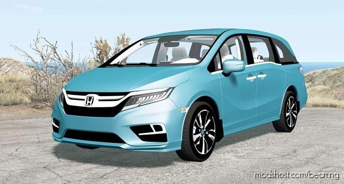 Honda Odyssey 2018 for BeamNG.drive