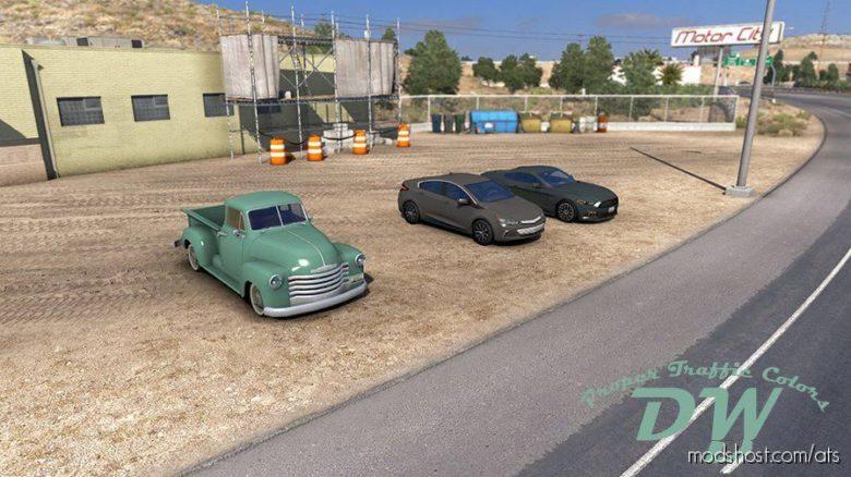 Proper Traffic Colors [1.39] for American Truck Simulator