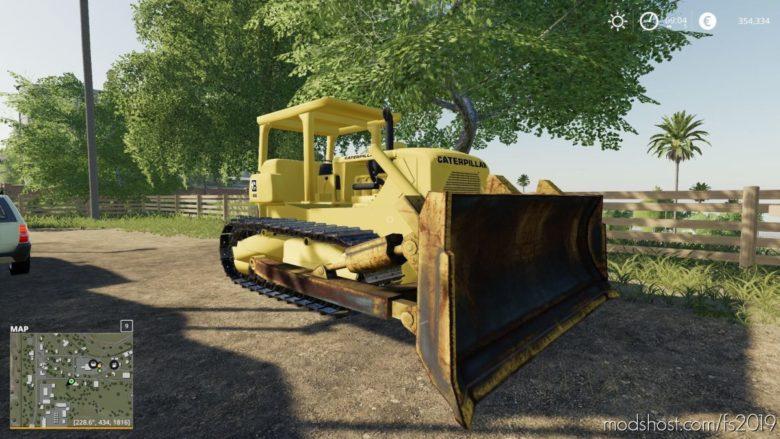 CAT D7 for Farming Simulator 19