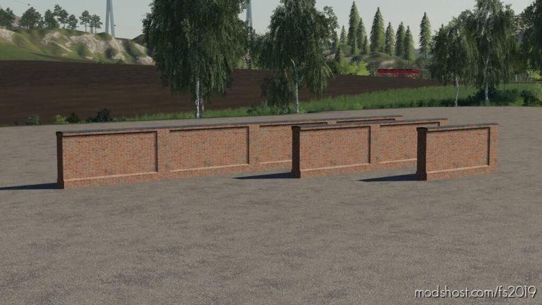 Brick Wall for Farming Simulator 19