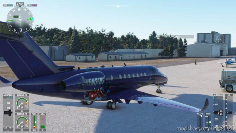 Longitude Avengers for Microsoft Flight Simulator 2020