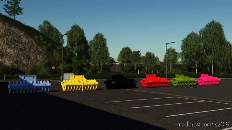 Lizard Silage Roller for Farming Simulator 19