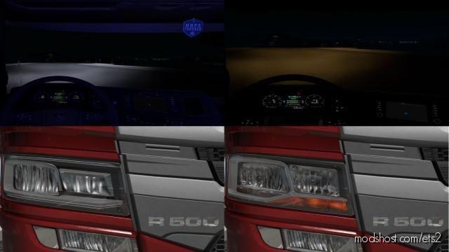 Scania 2016 Realistic Headlights V1.1 for Euro Truck Simulator 2